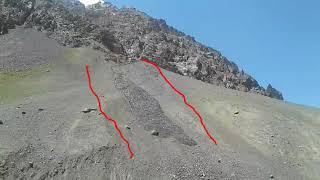 World landslide II caught on camera     World most shocking landslide    Landslide Pakistan