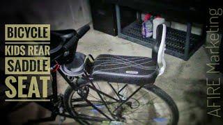 Children Bicycle Back Safety Seat For Kids Child Bike Saddle Rack Rest Cushion