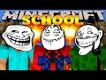 Minecraft School : HOW TO TROLL YOUR FRIENDS!