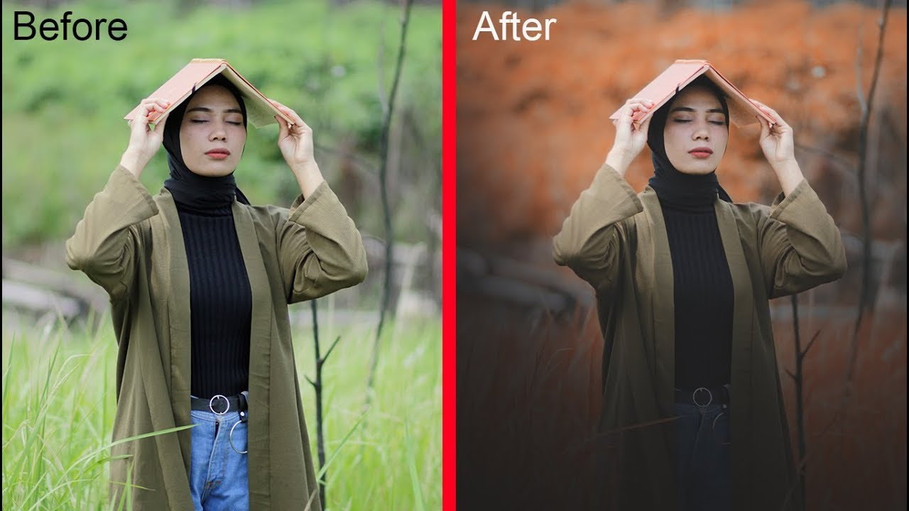 Cara edit foto keren dengan mudah || Tutorial Photoshop ...