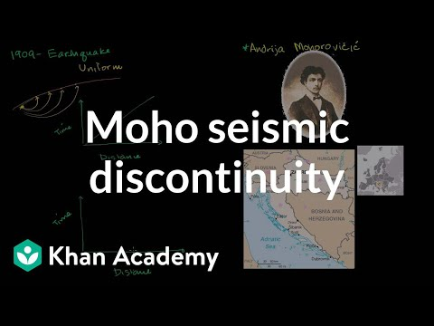 The mohorovicic seismic discontinuity | Cosmology & Astronom