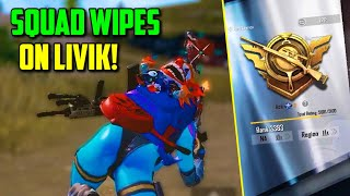 SIX FINGER claw player WIPES SQUADS on Livik! *NEW MAP* | PUBG Mobile Asia Ace