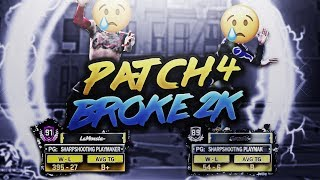 Patch 4 broke nba 2k18 literally lmfao! huge rant.. first game on the new patch