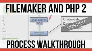 PHP Video 2   Technical Process Walkthrough   FileMaker 16 Vid…