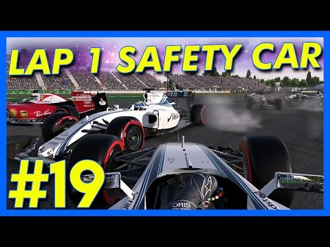 F1 2016 : Lap 1 Safety Car!! (F1 2016 Career Mode, Mexican GP, Part 19)