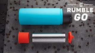 Rumble Go: A Seriously Portable Cold Brew Coffee Maker
