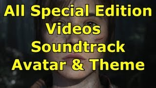 Beyond Two Souls All Special Edition Bonus Content Video,Soundtrack,Avatar,Theme, Advanced Experimen