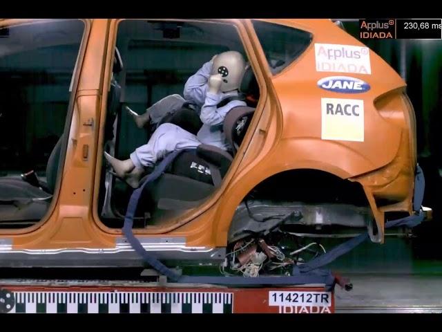 Instalarea incorectă a scaunelor auto pentru copii (RACC)