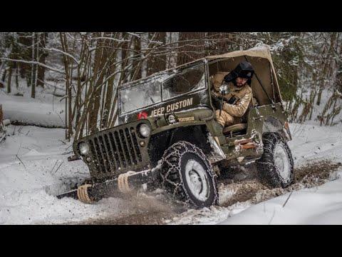 Willys, цепи, икра, водка и Jeep Wrangler