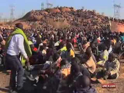 The Marikana Massacre: Through the Lens - The morning of August 16, 2013 (Part I)