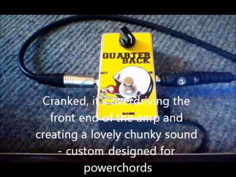 QUARTERBACK Boost/Buffer - Nine of Swords Effects. Handcrafted in the UK.