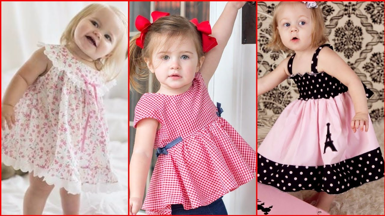 Cute dresses for kids girl  Baby frocks  Frock designs  kids outfits   Little girl dresses 5