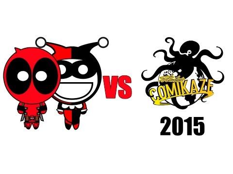 Deadpool & Harley Quinn Vs Comikaze Expo 2015