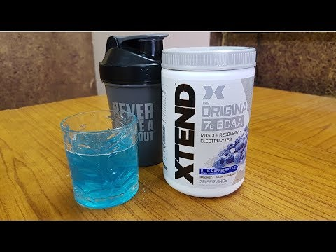 Xtend BCAA review (New)
