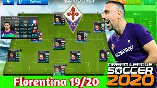 Hướng dẫn hack đội hình Florentina 19/20 trong Dream League Soccer 2020