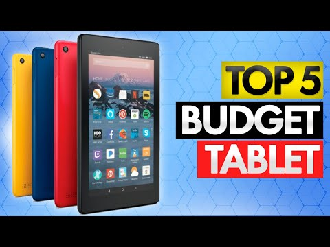 Top 5 BEST Budget Tablets Of [2020]