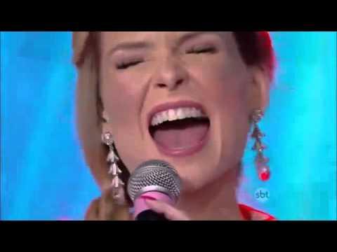 Bianca Toledo no Raul Gil
