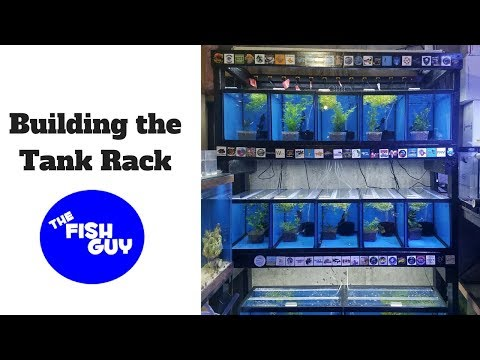Building The Tank Rack