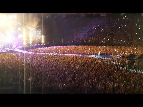 Coldplay Buenos Aires 31 de marzo 2016 Viva la vida - Adventure of a lifetime