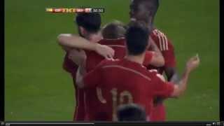Gol de Deulofeu (España 2-0 Georgia)
