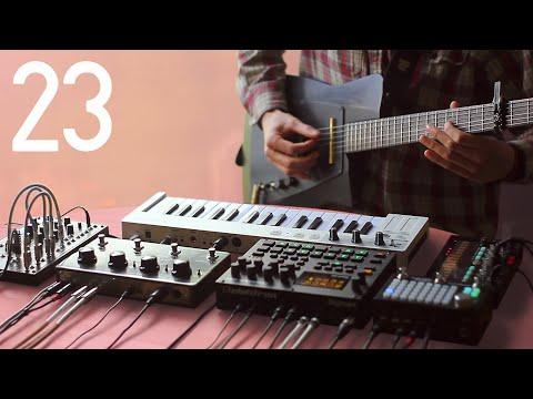 Random Jam #23 [14/8 Hip-hop W/ Millimetric Instruments MGS2, Digitakt, Volca FM & 0-Coast]