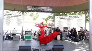 Emi Arte Flamenco Company Santa Fe Band Shell  Spanish Market 2018