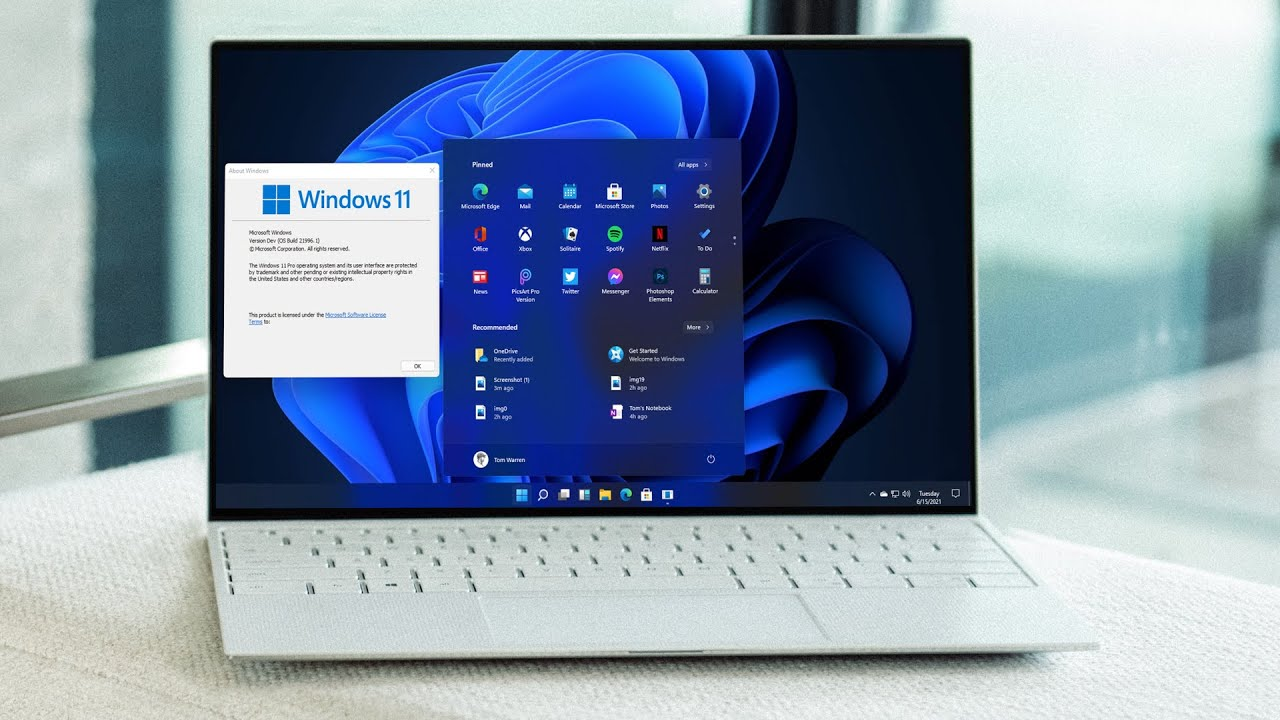 Cara Menampilkan Start Menu Windows 10 di Windows 11