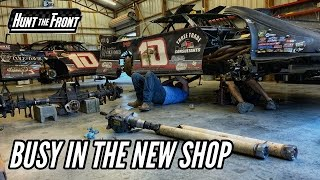 First Night Working on the Super Late Model in Our New Race Shop