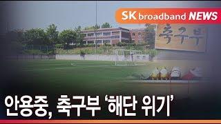 '박지성 모교' 화성 안용중, 축구부 '해단 위기'