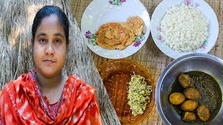 Village Cooking: 3 Easy Eggs Recipe, Eggs Gravy, Egg Fried, Eggs Paste by Village Food Life