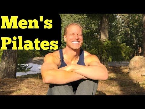 10 minute beginner pilates for men  sean vigue  youtube