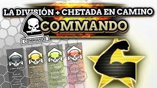La DIVISIÓN más CHETADA - División COMMANDO en camino! (4 Instrucciones, - Retroceso, etc)
