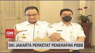 """Anies Tarik """"Rem Darurat"""", Jakarta PSBB Total"""