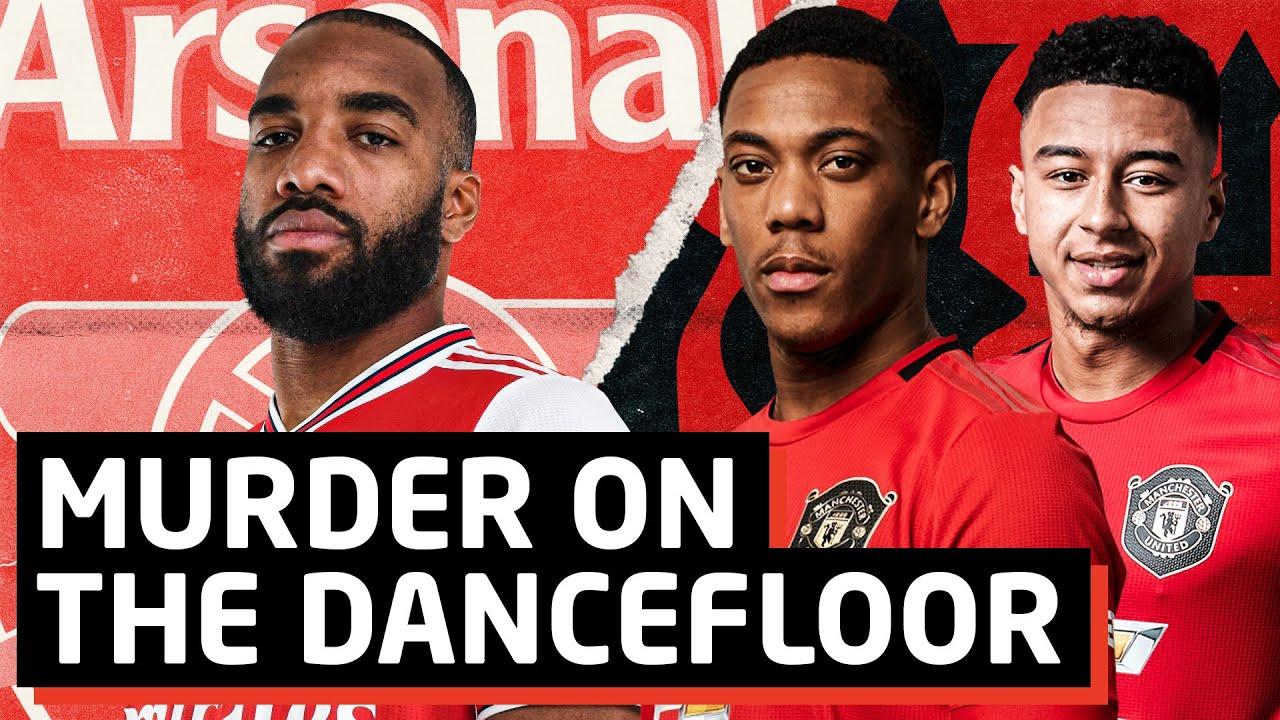Murder The Dance Floor Arsenal Vs Man United