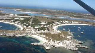 Tour of Rottnest Island on the Rottnest Air Taxi