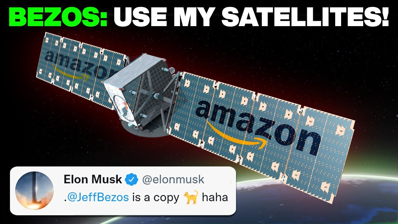 Jeff Bezos' Desperate Attempt To Destroy Starlink Satellites