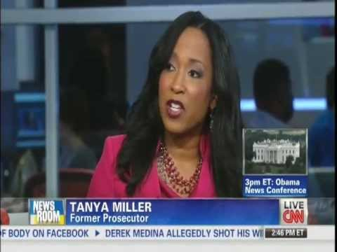 CNN Tanya Miller on Issue of Excessive Force by Dekalb County Police 8/9/13
