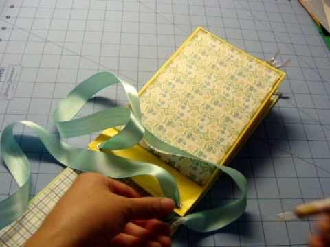 how to make a paper bag album