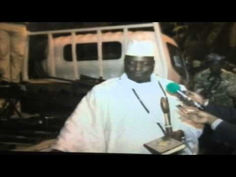 Gambia Coup Attempt On Jammeh Dec 2014