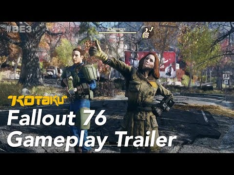 "Fallout 76 Gameplay Trailer ""Let's Work With Others"" E3 2018"