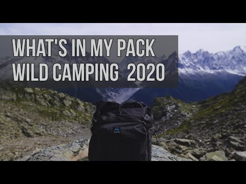 Whats In My Hiking Pack - UK Wild Camping 2020