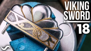 MAKING A VIKING SWORD!!! Part 18