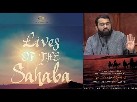 Lives of the Sahaba 1 - Abu Bakr As-Siddiq Pt.1 - His family background -  Yasir Qadhi