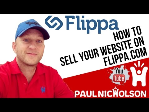 How To Sell Your Website Using Flippa.com Beginner Tutorial 2017