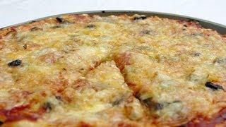 Vegetarian Pizza recipe | Pizza végétarienne VENG