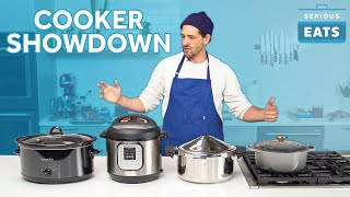 Cooker Showdown: Instant Pot versus Crock Pot versus Dutch Oven