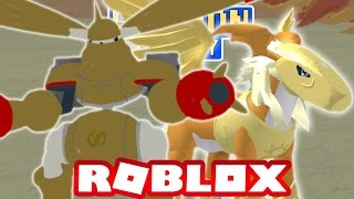 Digimon Aurity - Pegasusmon & Rapidmon(Gold) (Roblox Gameplay)