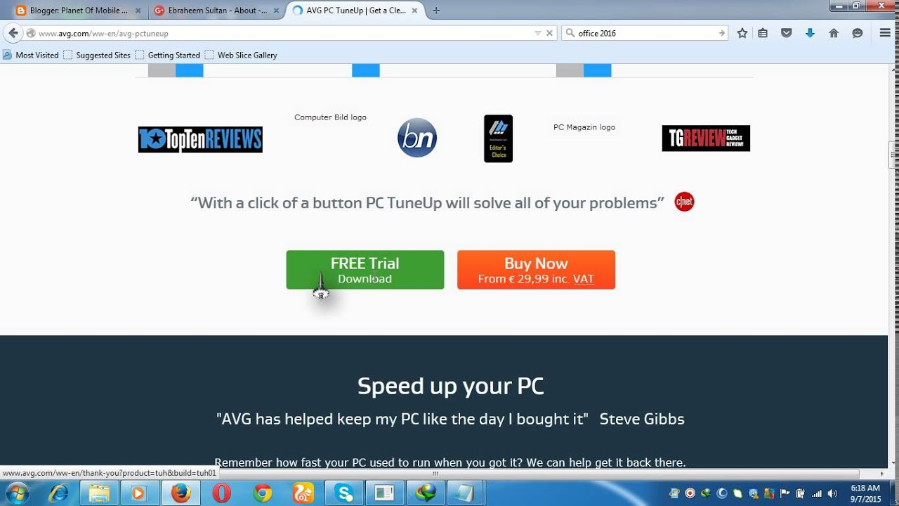 activate avg pc tuneup 2015 product key