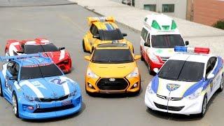 Carbot Tobot Robot Transformation Stop Motion Car Toys 헬로카봇 또봇 애슬론 자동차 장난감 야외 스톱모션 합성 동영상
