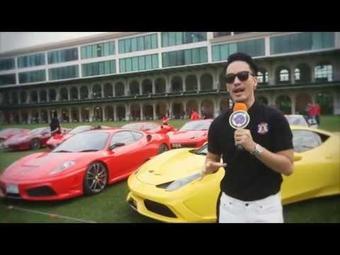 Ferrari Owners' Club Thailand (FOCT) 2015 New Year Party on ตะลุยปาร์ตี้ TRUE Vision Channel